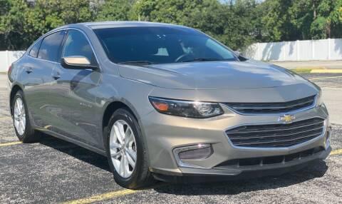 2018 Chevrolet Malibu for sale at Guru Auto Sales in Miramar FL