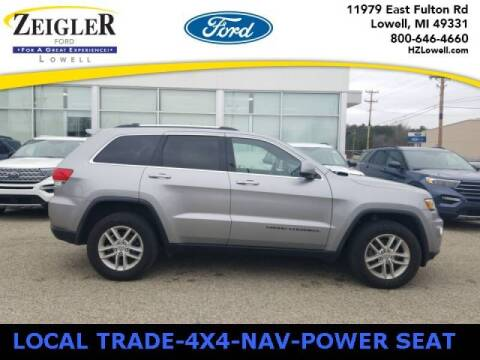 2018 Jeep Grand Cherokee for sale at Zeigler Ford of Plainwell- michael davis in Plainwell MI