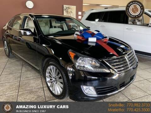 2014 Hyundai Equus for sale at Amazing Luxury Cars in Snellville GA