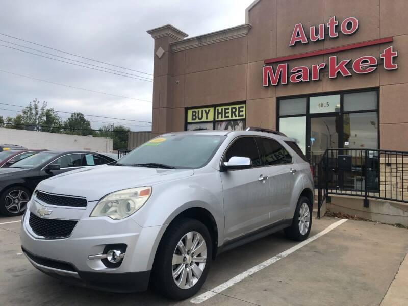 2010 Chevrolet Equinox for sale at Auto Market in Oklahoma City OK