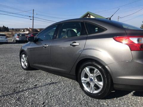 2014 Ford Focus for sale at CESSNA MOTORS INC in Bedford PA