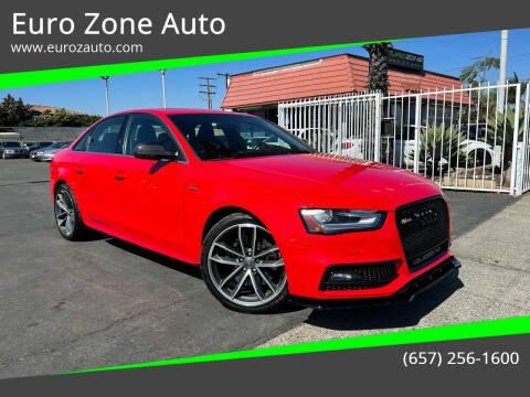 2015 Audi S4 for sale at Euro Zone Auto in Stanton CA