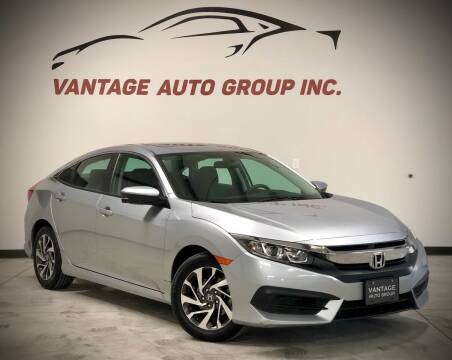 2016 Honda Civic for sale at Vantage Auto Group Inc in Fresno CA