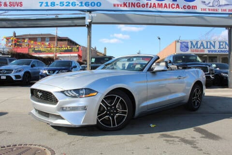 2019 Ford Mustang for sale at MIKEY AUTO INC in Hollis NY