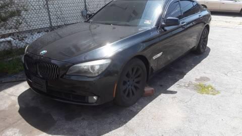 2010 BMW 7 Series for sale at Autolistix LLC in Salem NJ