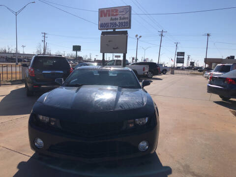 2010 Chevrolet Camaro for sale at MB Auto Sales in Oklahoma City OK
