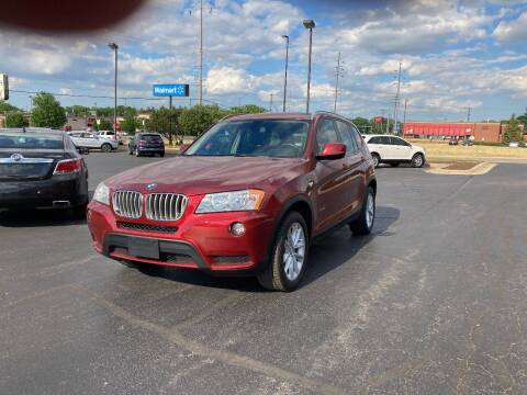 2013 BMW X3 for sale at Auto Outlets USA in Rockford IL