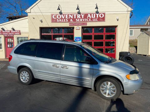 2003 Chrysler Town and Country for sale at COVENTRY AUTO SALES in Coventry CT
