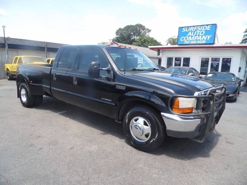 2000 Ford F-350 Super Duty for sale at Surfside Auto Company in Norfolk VA