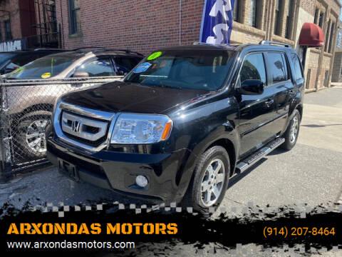 2011 Honda Pilot for sale at ARXONDAS MOTORS in Yonkers NY