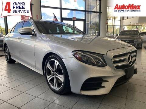 2017 Mercedes-Benz E-Class for sale at Auto Max in Hollywood FL