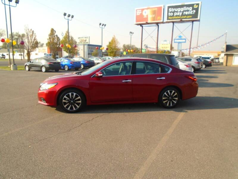 2018 Nissan Altima for sale at Smart Buy Auto Sales in Ogden UT