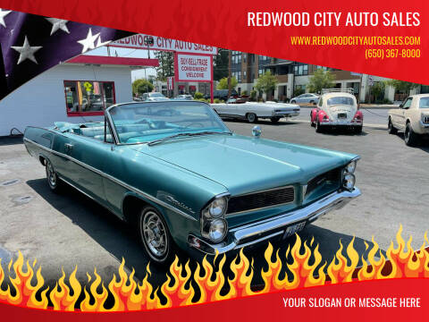 1963 Pontiac Catalina for sale at Redwood City Auto Sales in Redwood City CA