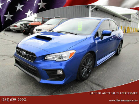 2018 Subaru WRX for sale at Lifetime Auto Sales and Service in West Bend WI