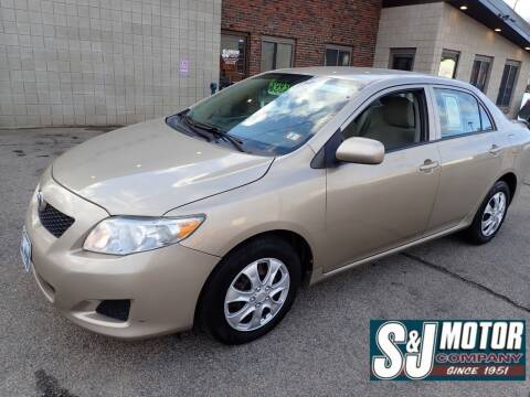 2009 Toyota Corolla for sale at S & J Motor Co Inc. in Merrimack NH
