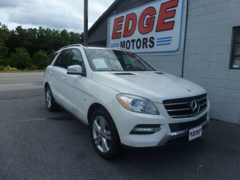 2012 Mercedes-Benz M-Class for sale at Edge Motors in Mooresville NC