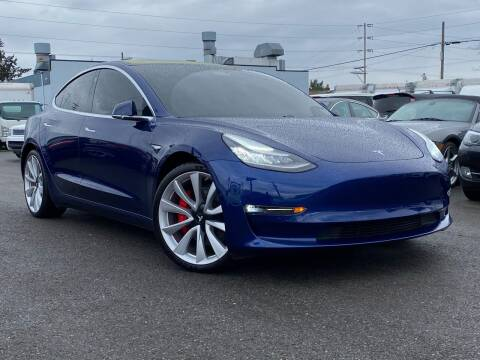 2018 Tesla Model 3 for sale at Lux Motors in Tacoma WA