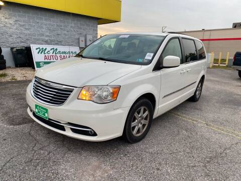 2011 Chrysler Town and Country for sale at McNamara Auto Sales - Red Lion Lot in Red Lion PA