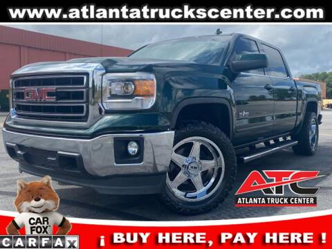 2014 GMC Sierra 1500 for sale at ATLANTA TRUCK CENTER LLC in Brookhaven GA