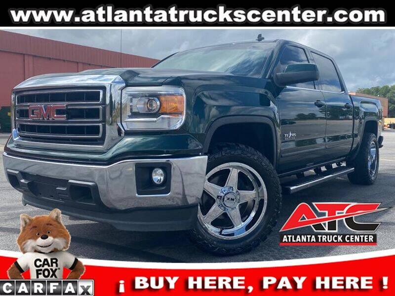 2014 GMC Sierra 1500 for sale at ATLANTA TRUCK CENTER LLC in Brookhaven GA