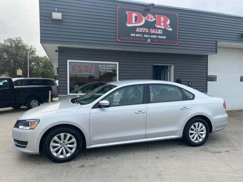 2013 Volkswagen Passat for sale at D & R Auto Sales in South Sioux City NE
