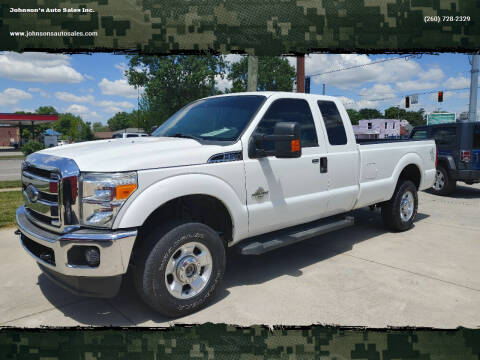 2012 Ford F-250 Super Duty for sale at Johnson's Auto Sales Inc. in Decatur IN