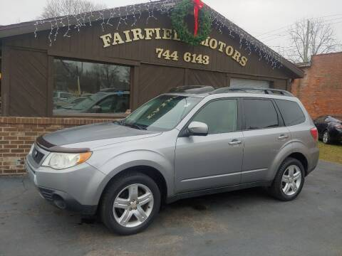 2010 Subaru Forester for sale at Fairfield Motors in Fort Wayne IN