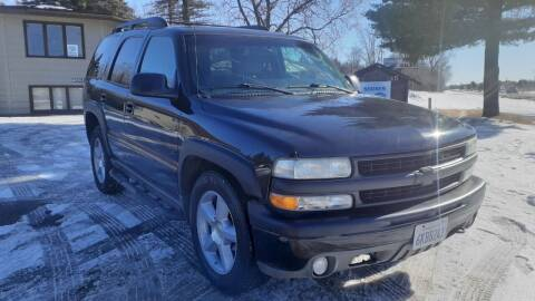 2002 Chevrolet Tahoe for sale at Shores Auto in Lakeland Shores MN