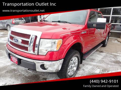 2010 Ford F-150 for sale at Transportation Outlet Inc in Eastlake OH
