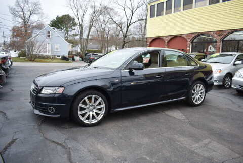 2012 Audi A4 for sale at Absolute Auto Sales, Inc in Brockton MA