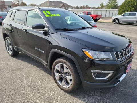 2019 Jeep Compass for sale at Cooley Auto Sales in North Liberty IA