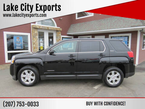 2015 GMC Terrain for sale at Lake City Exports in Auburn ME