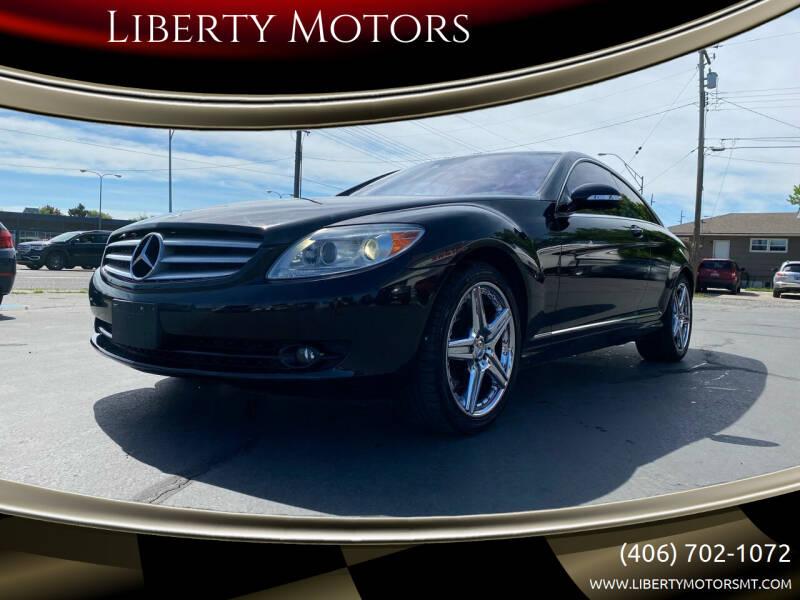 2007 Mercedes-Benz CL-Class for sale at Liberty Motors in Billings MT