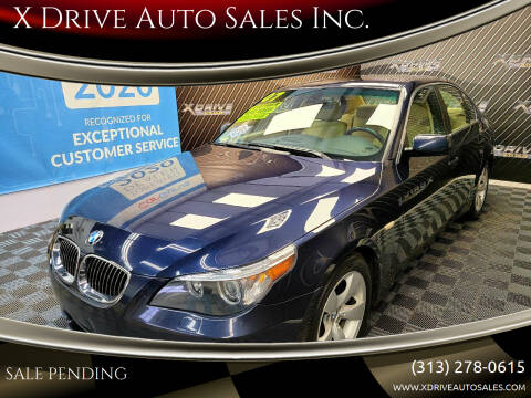 2007 BMW 5 Series for sale at X Drive Auto Sales Inc. in Dearborn Heights MI