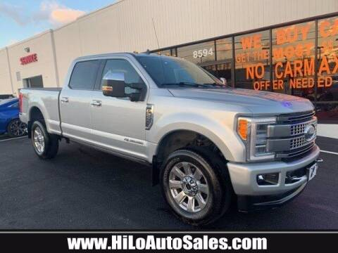 2019 Ford F-250 Super Duty for sale at Hi-Lo Auto Sales in Frederick MD