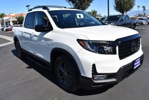 2021 Honda Ridgeline for sale at DIAMOND VALLEY HONDA in Hemet CA