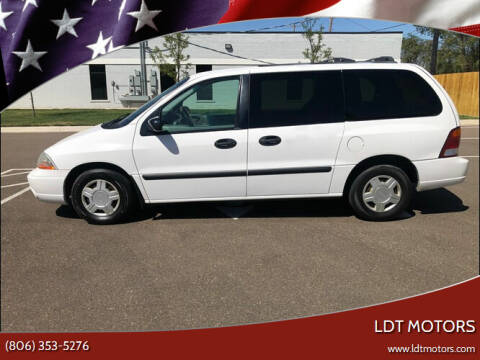 2003 Ford Windstar for sale at LDT MOTORS in Amarillo TX