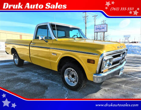 1972 GMC C10 1500 for sale at Druk Auto Sales in Ramsey MN
