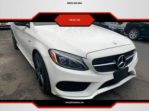 2017 Mercedes-Benz C-Class for sale at Gallery Auto Sales in Bronx NY