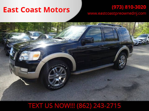 2009 Ford Explorer for sale at East Coast Motors in Lake Hopatcong NJ