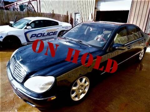 2002 Mercedes-Benz S-Class for sale at East Coast Auto Source Inc. in Bedford VA