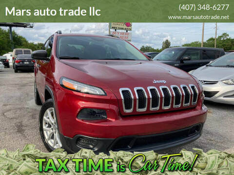 2016 Jeep Cherokee for sale at Mars auto trade llc in Kissimmee FL