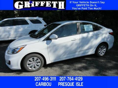 2017 Hyundai Accent for sale at Griffeth Mitsubishi - Pre-owned in Caribou ME