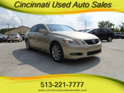2006 Lexus GS 300 for sale at Cincinnati Used Auto Sales in Cincinnati OH