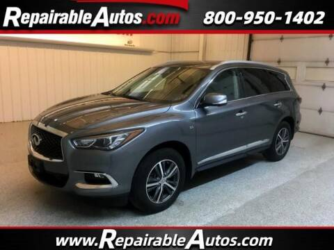 2018 Infiniti QX60 for sale at Ken's Auto in Strasburg ND