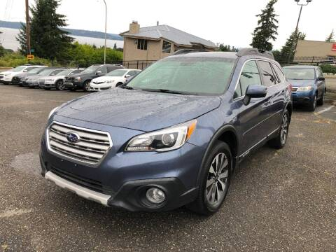 2016 Subaru Outback for sale at KARMA AUTO SALES in Federal Way WA