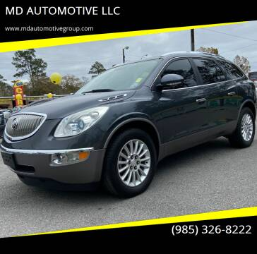 2011 Buick Enclave for sale at MD AUTOMOTIVE LLC in Slidell LA