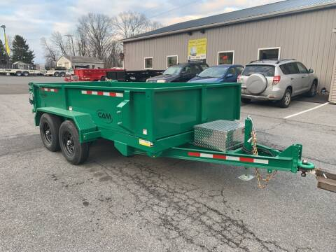 2021 Cam Superline 6x12 Advantage Dump for sale at Smart Choice 61 Trailers in Shoemakersville PA