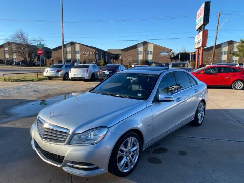 2012 Mercedes-Benz C-Class for sale at Car Gallery in Oklahoma City OK