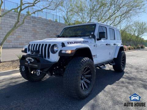 2019 Jeep Wrangler Unlimited for sale at AUTO HOUSE TEMPE in Tempe AZ